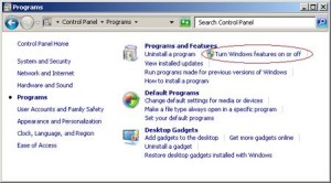 how to enable telnet on windows 7 operating system